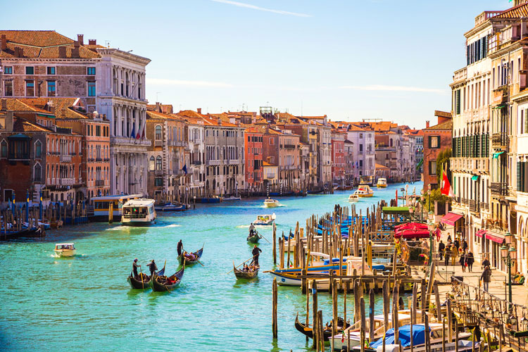 The floating city - Venice