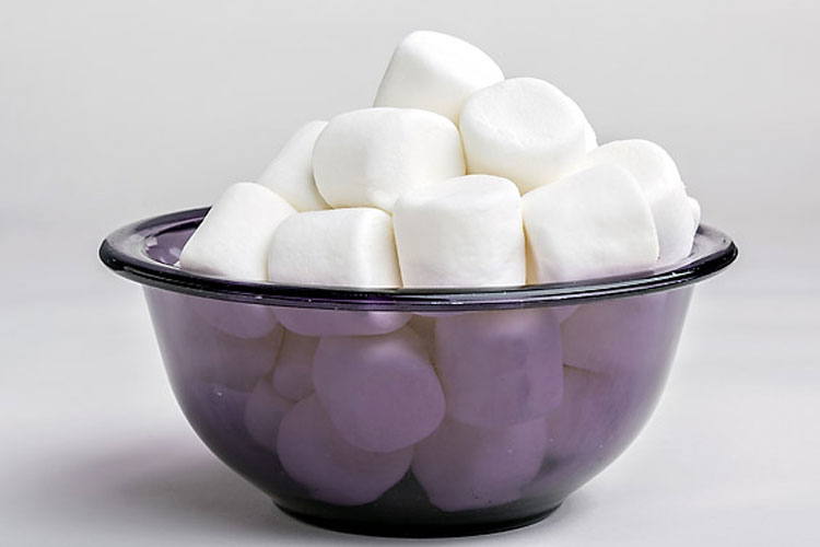 Relax a Sore Throat with a Marshmallow