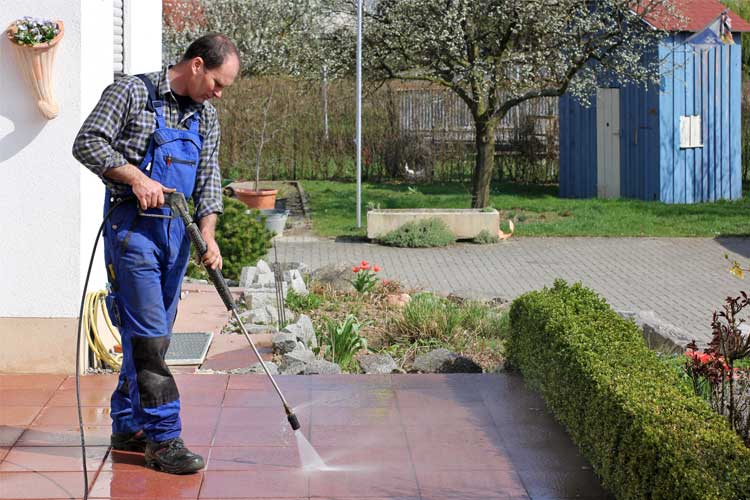 How To Pressure Wash A Driveway Like A Pro