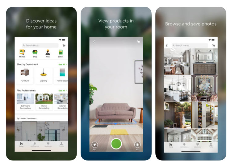 Most Popular Home Decorating Apps for Android and iOS - WebGener